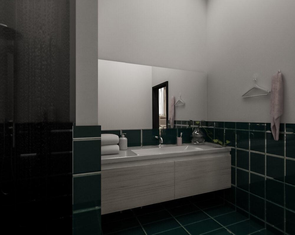 Badezimmer 'Smaragd'