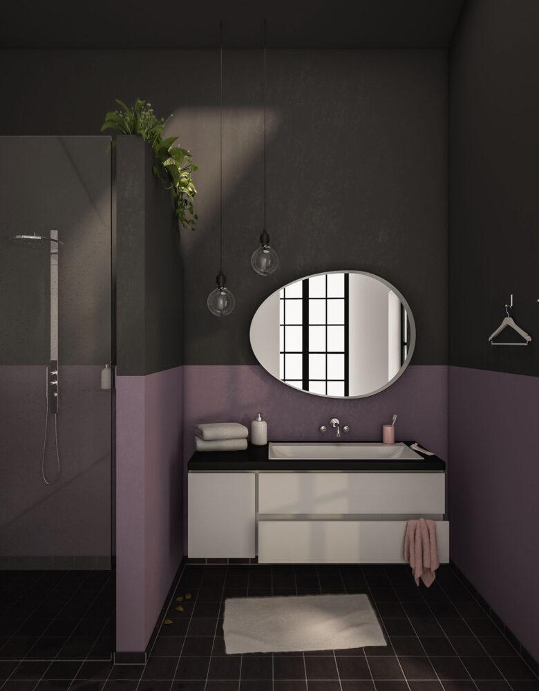 Badezimmer 'Lavender'