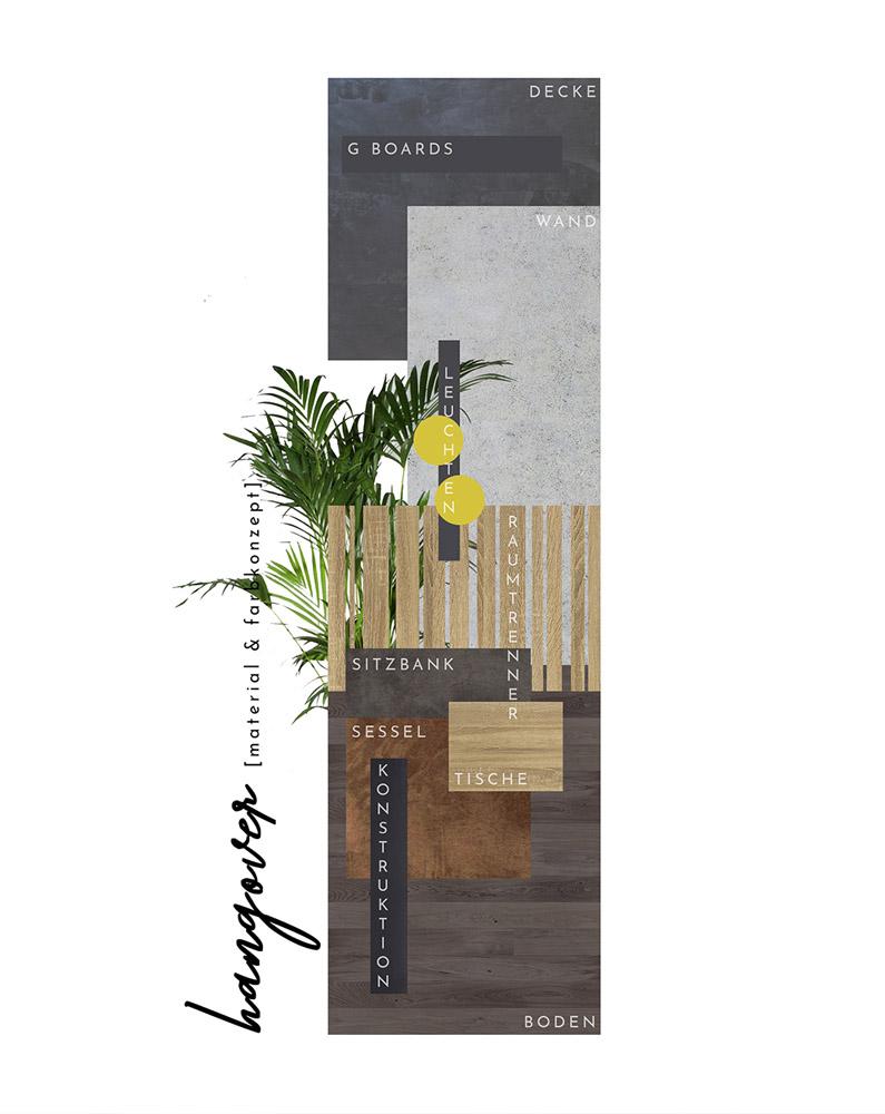 Moodboard Konzept Restaurant H.