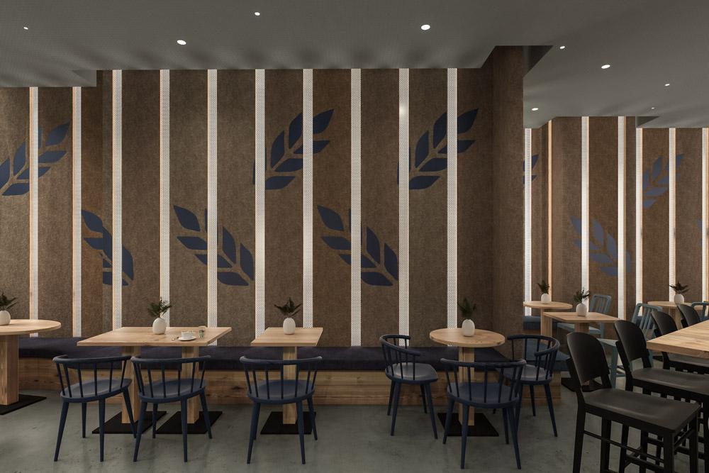 Interior Rendering Bäckerei