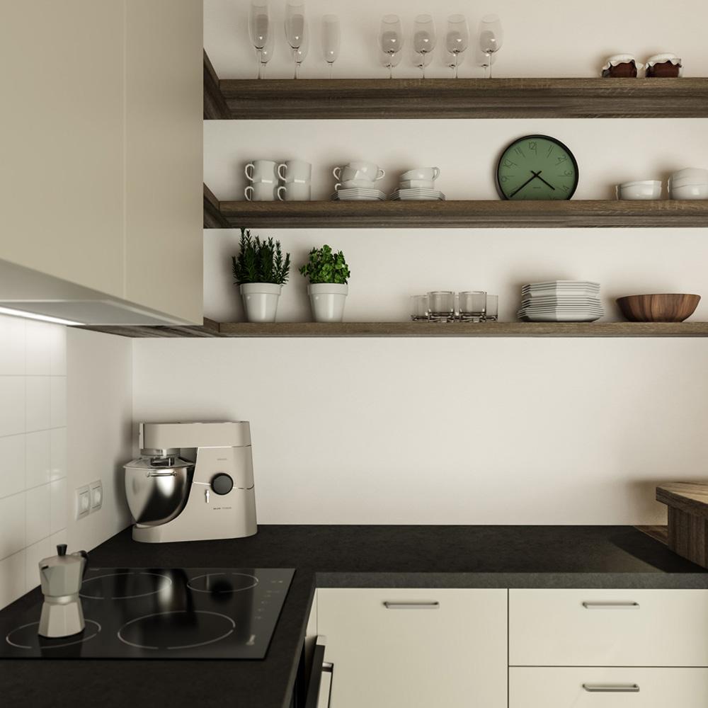 Wohnküche M. Innenraum Gestaltung