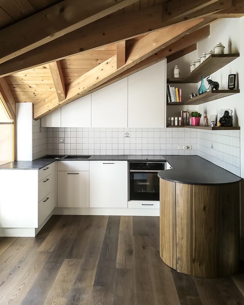 Wohnküche M. Umsetzung