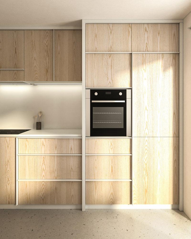 Küche J. Innenraum Gestaltung