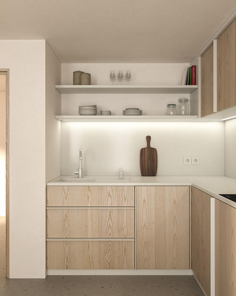 Küche J. Visualisierung
