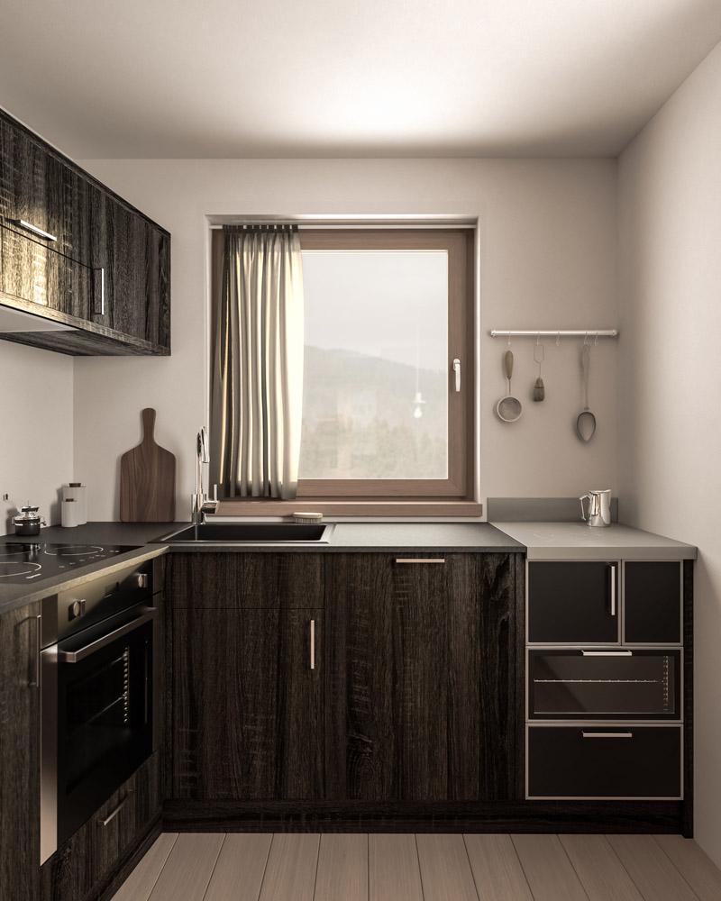 Wohnküche K. Interior Design