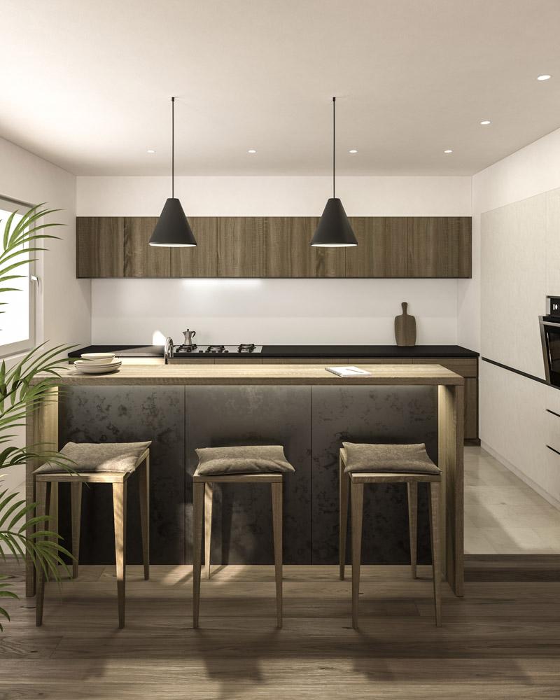 Küche C. Variante