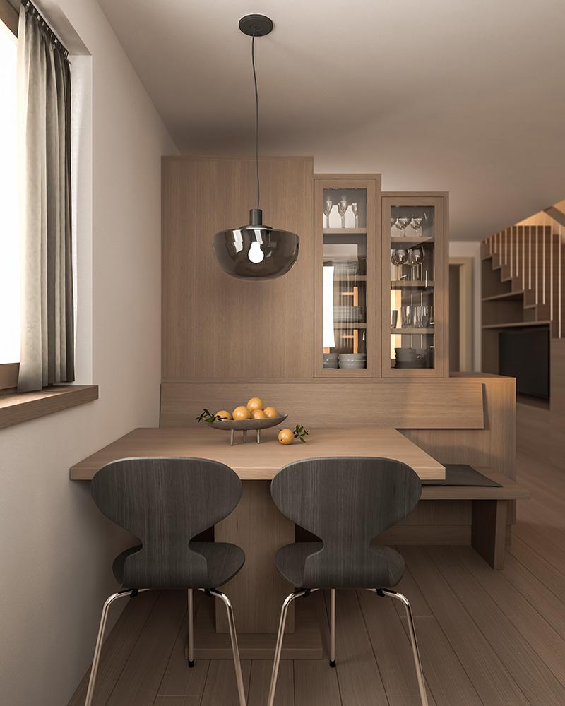 Wohnküche K. Innenraum Gestaltung