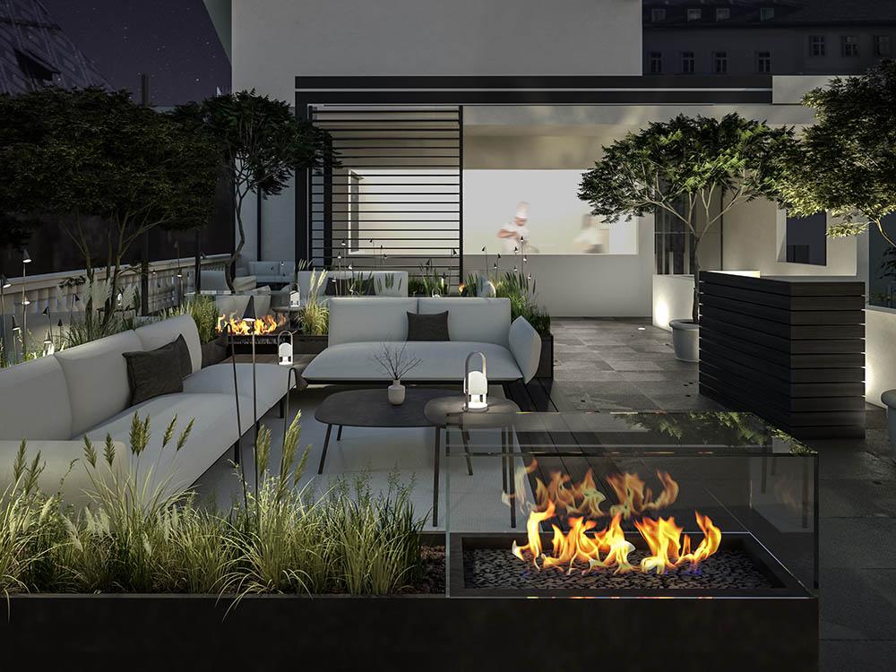 Exterior Design Palais Campofranco Lounge