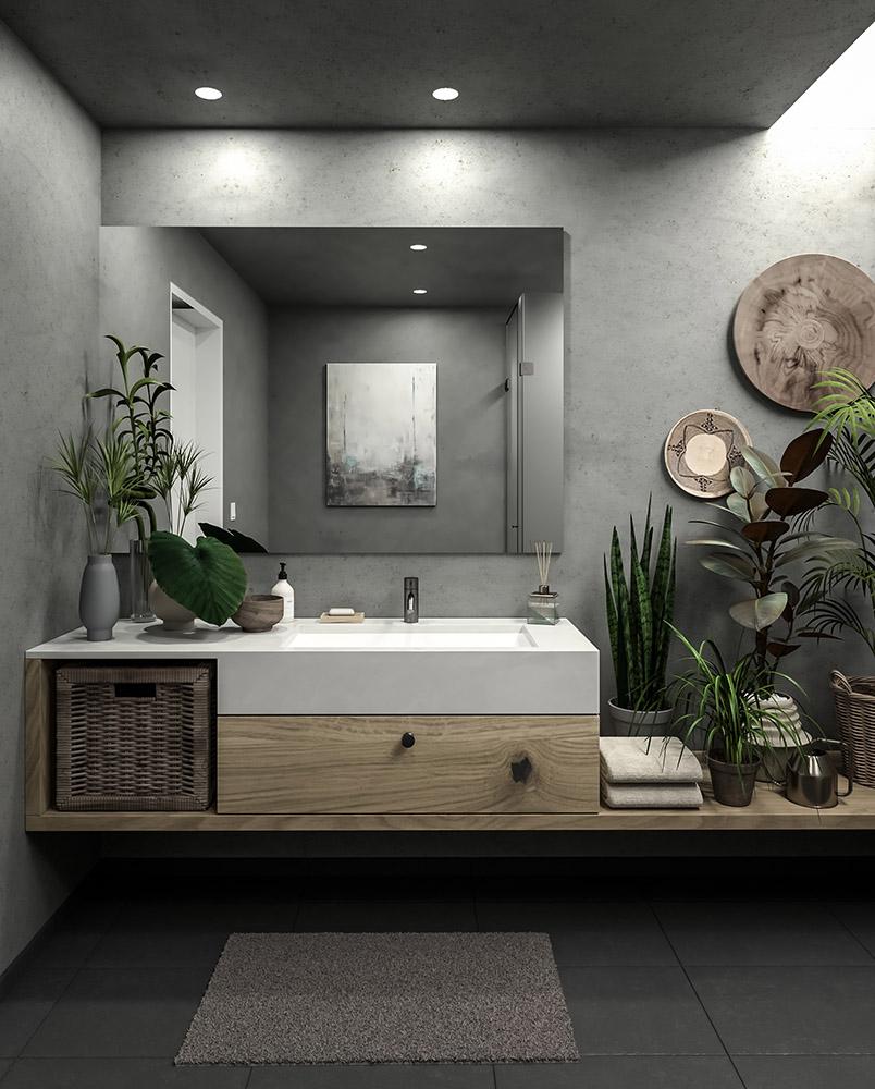 Badezimmer O.