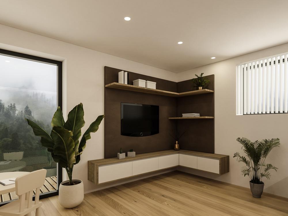 Wohnraum P. Innenraum Gestaltung