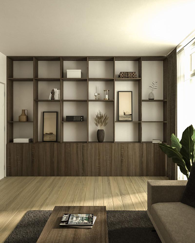 Wohnzimmer Z. Visualisierung